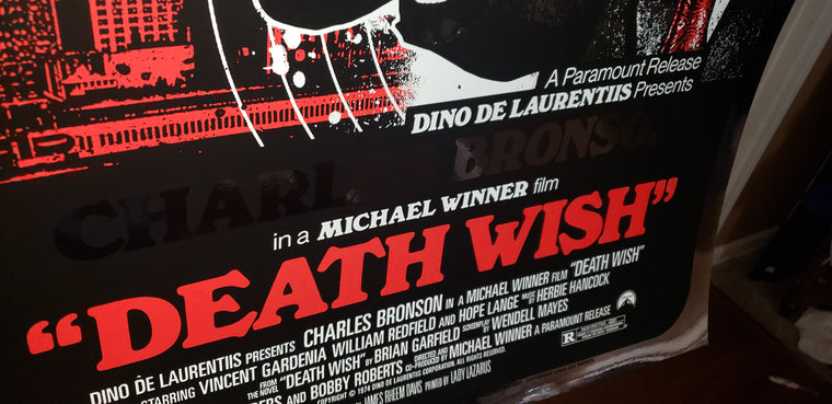 Death Wish - Foil Variant - Regular Colorway- JD - Mad Duck Posters