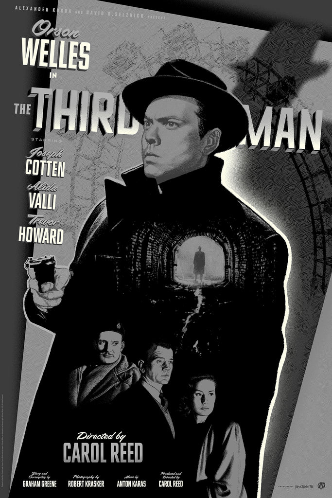 The Third Man - Silver & Black Metallic Variant - Mad Duck Posters