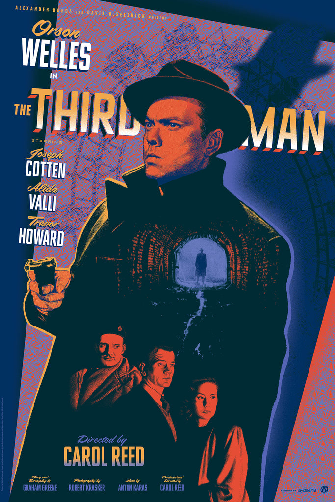 The Third Man - Purple Variant - Mad Duck Posters