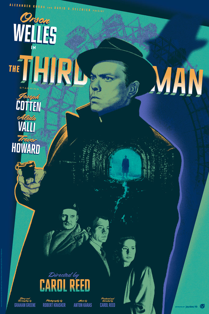 The Third Man - Green Variant - Mad Duck Posters