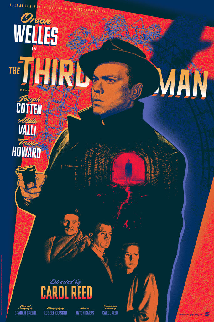 The Third Man - Red Variant - Mad Duck Posters
