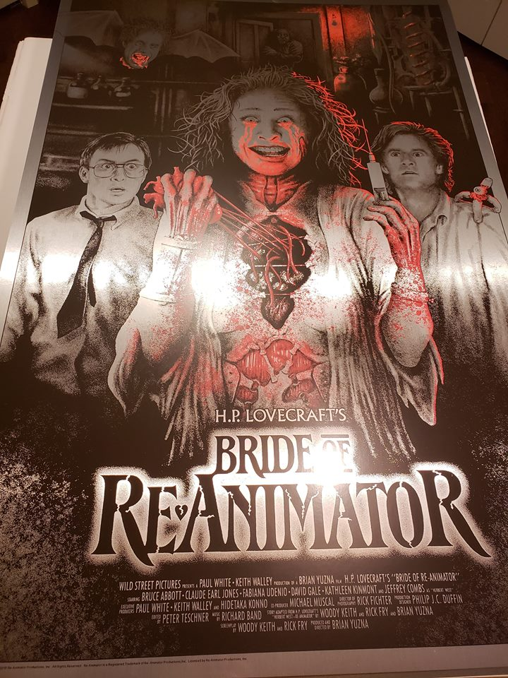 Bride of Re-Animator - Crimson Tears - Silver Foil Variant