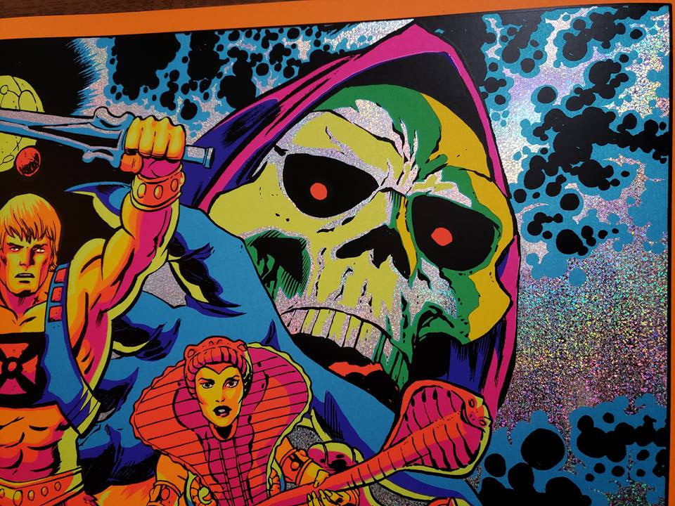 Third Eye Of Eternia - Electric Dot Foil Variant - Mad Duck Posters