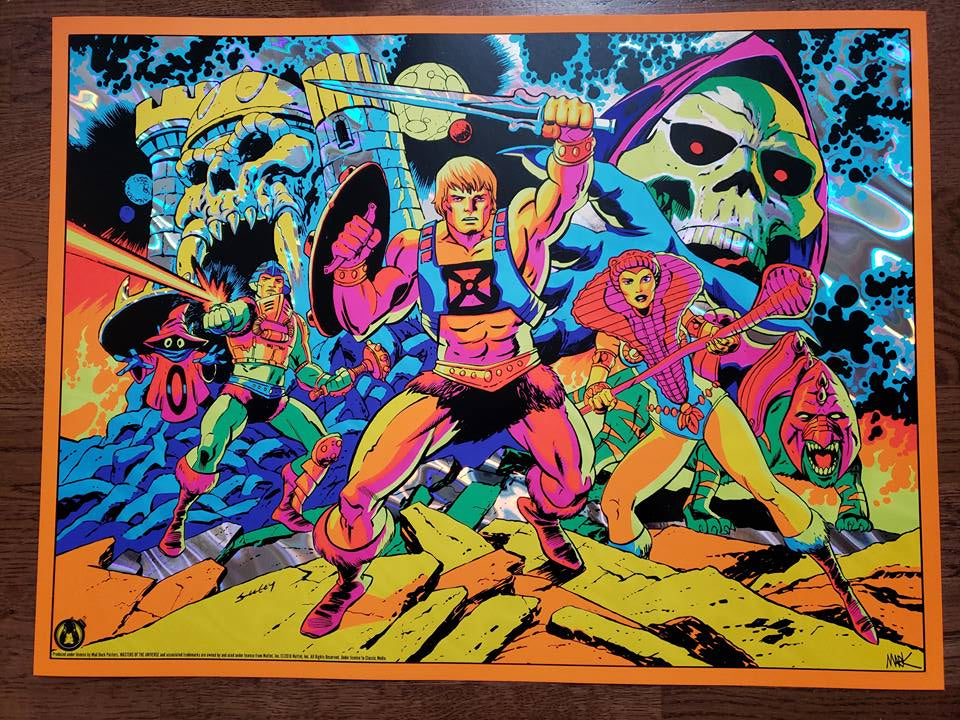 Third Eye Of Eternia - Lava Foil Variant - Mad Duck Posters