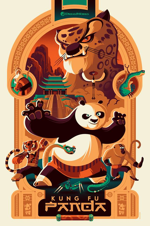 Kung Fu Panda - Mad Duck Posters