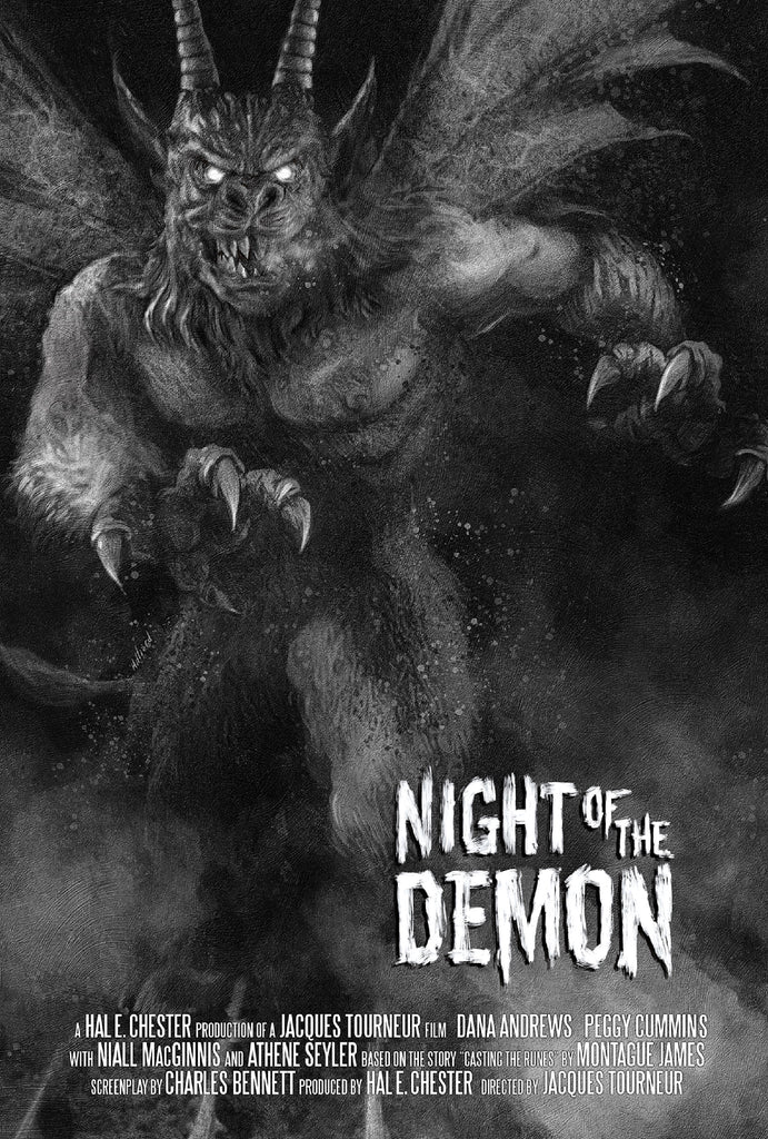Night Of The Demon - Mad Duck Posters