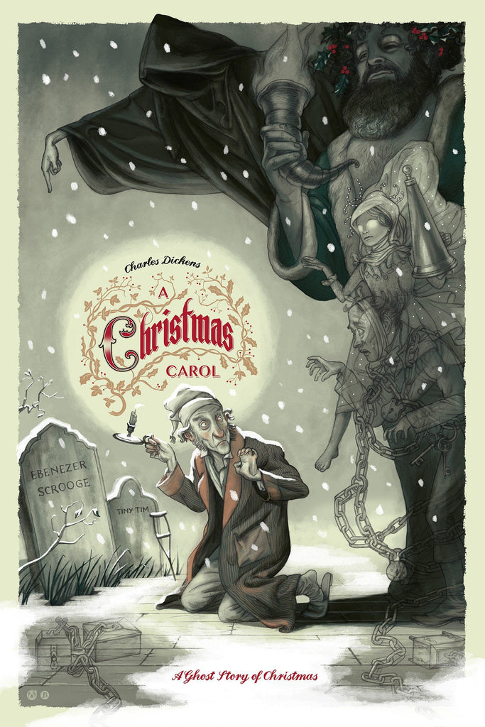 A Christmas Carol - Variant - Mad Duck Posters