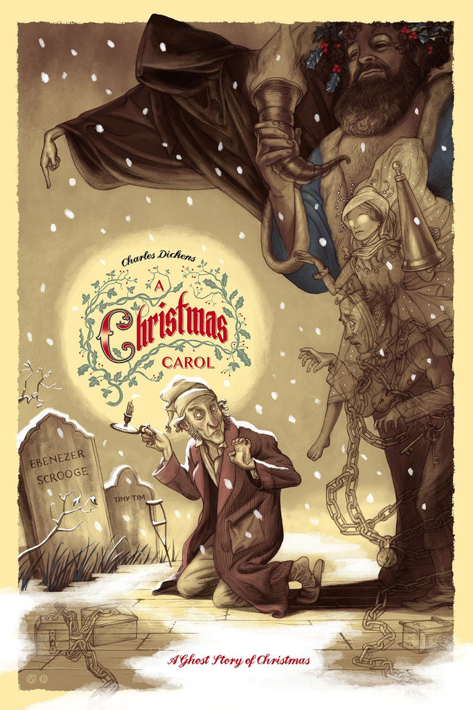 A Christmas Carol - Spirits of Winter Variant - Mad Duck Posters