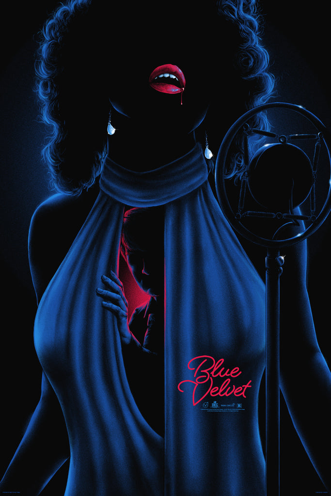Blue Velvet - Regular - Mad Duck Posters