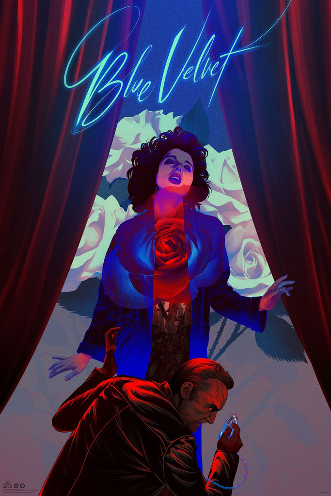 Blue Velvet - Regular - KT - Mad Duck Posters