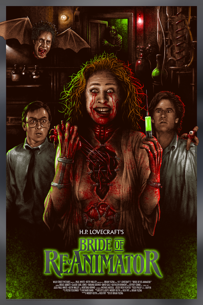 Bride of Re-Animator - Foil Variant - Regular Colorway - Mad Duck Posters
