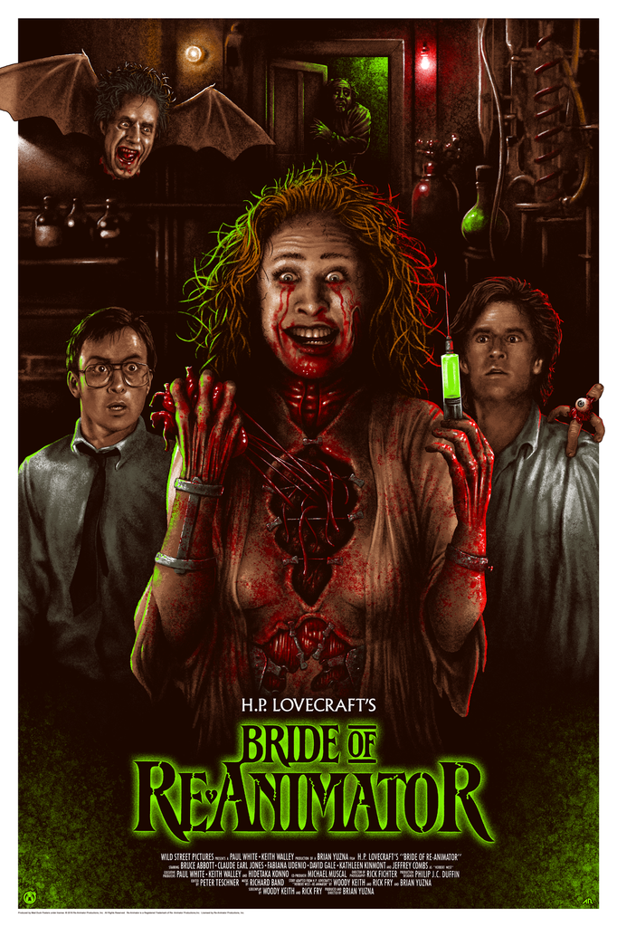 Bride of Re-Animator - Regular - Mad Duck Posters