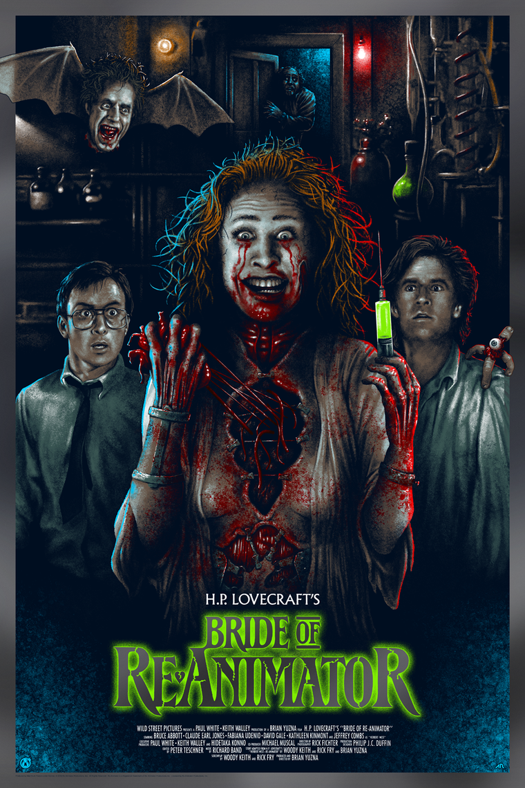 Bride of Re-Animator - Foil Variant - Variant Colorway
