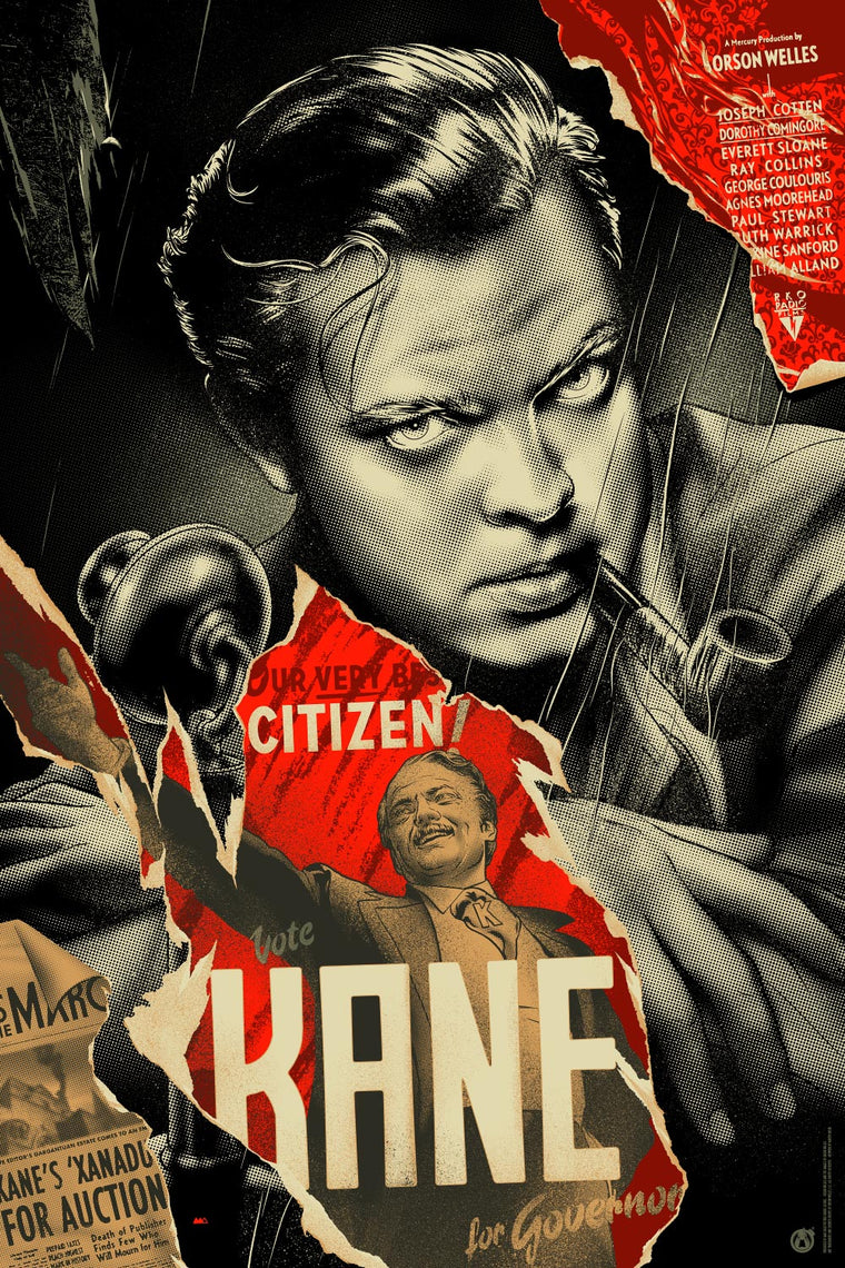 Citizen Kane - Regular & Variant Matching Number Set - Mad Duck Posters