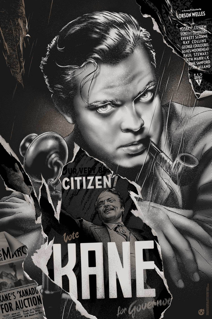 Citizen Kane - Variant - Mad Duck Posters