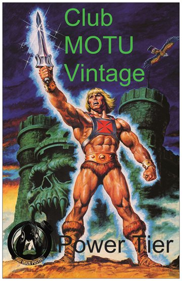 Club MOTU Vintage - Power Tier! - Mad Duck Posters