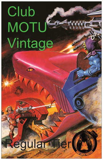 Club MOTU Vintage - Regular Tier!