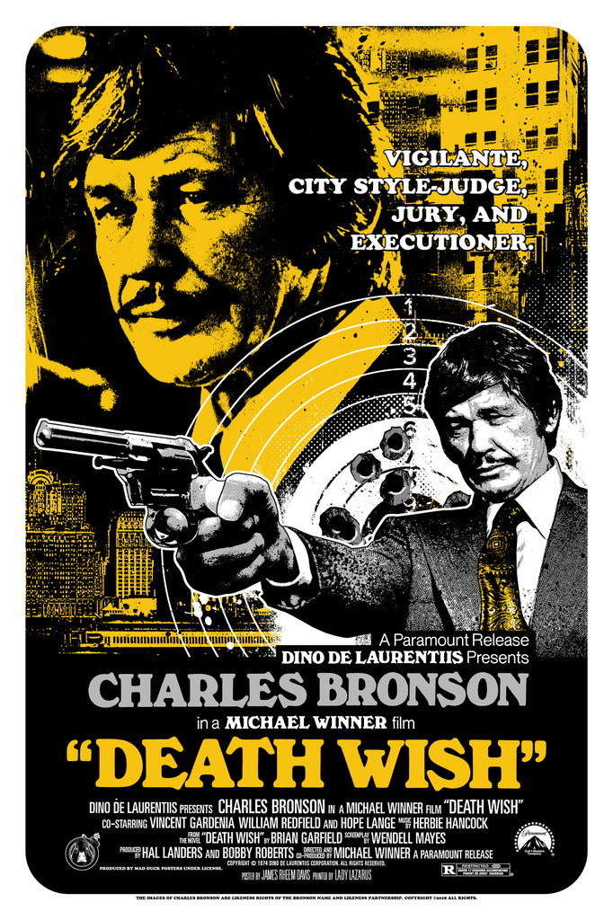 Death Wish - Variant - JD - Mad Duck Posters