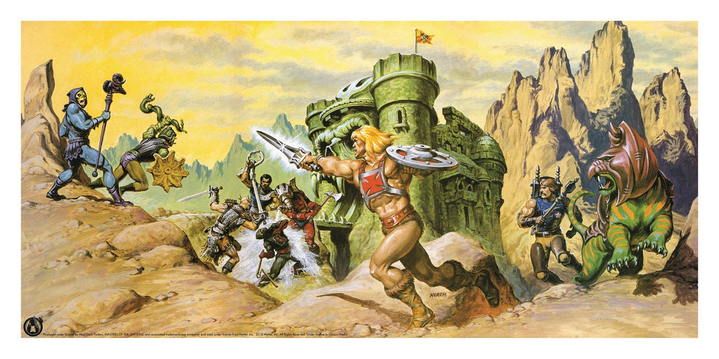 Defenders Of Castle Grayskull - Power Variant - Mad Duck Posters