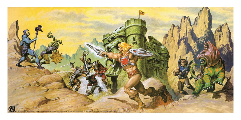 Defenders Of Castle Grayskull - Mad Duck Posters