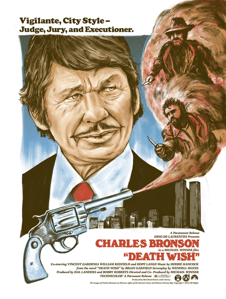 Death Wish - Regular - Mad Duck Posters