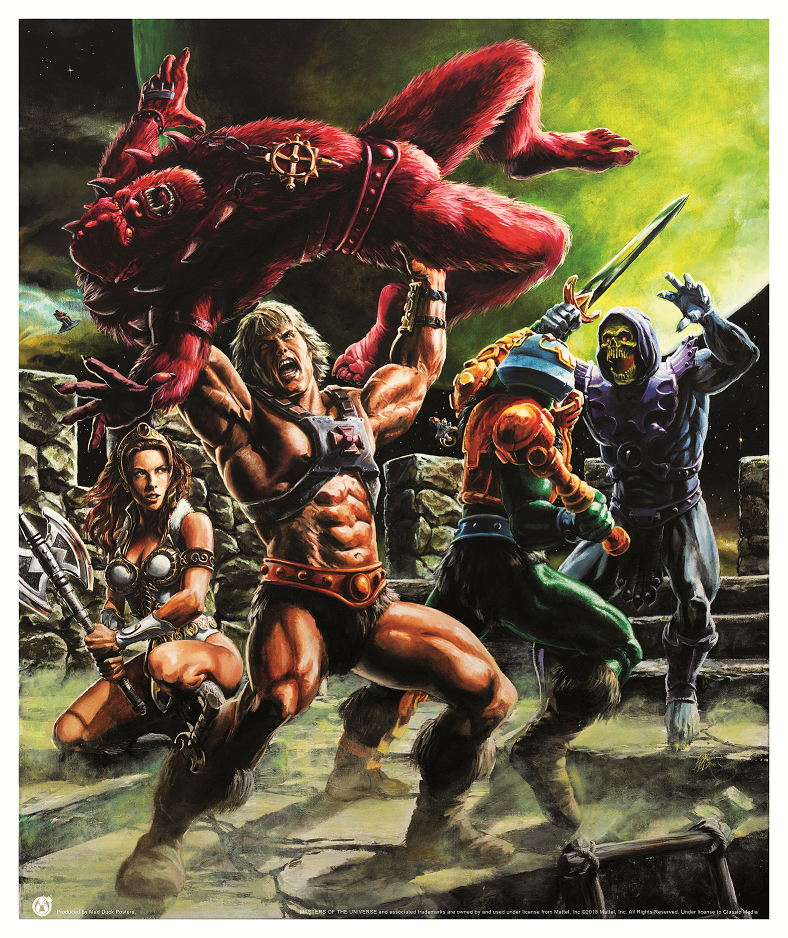 Fight For Castle Grayskull - Mad Duck Posters