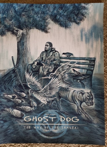 Ghost Dog - Regular - Mad Duck Posters