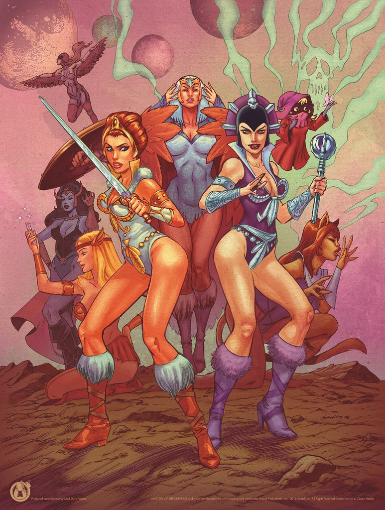 Girls Of Grayskull - Mad Duck Posters