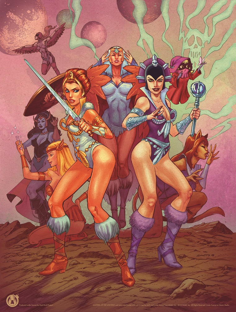 Girls Of Grayskull