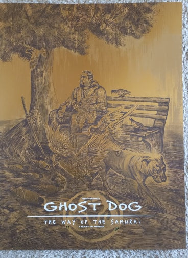 Ghost Dog - Gold Foil Variant - Mad Duck Posters