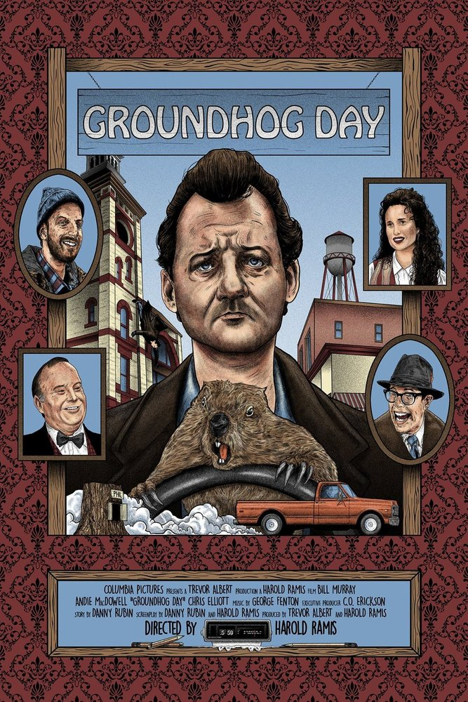 Groundhog Day - Mad Duck Posters