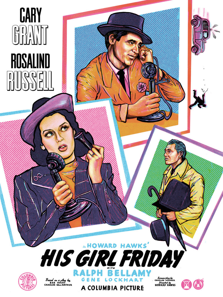 His Girl Friday - Regular - Mad Duck Posters