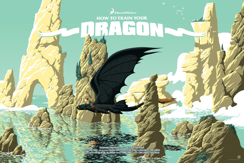 How to Train Your Dragon - Mad Duck Posters