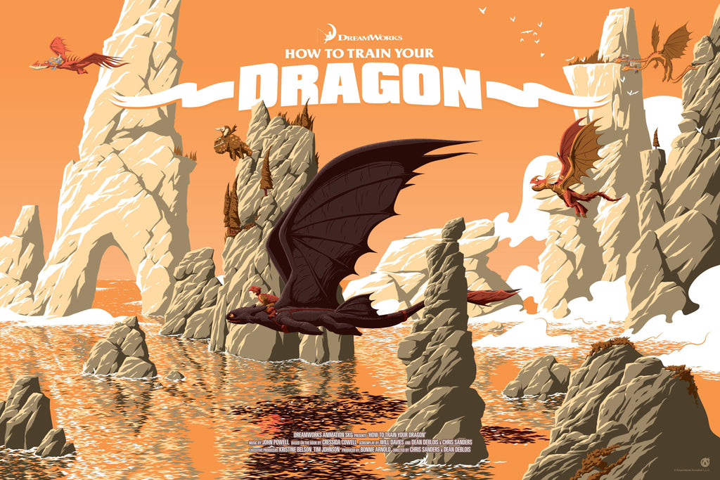 How to Train Your Dragon - Variant - Mad Duck Posters