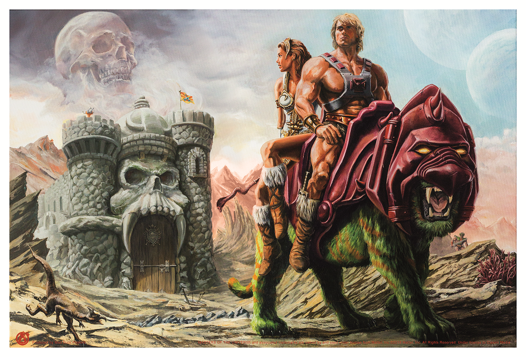 He-Man - The Prophecy Of Legends - Mad Duck Posters