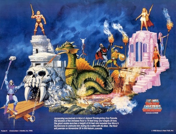 MOTU Macy's Thanksgiving Day Parade Concept Art - Mad Duck Posters