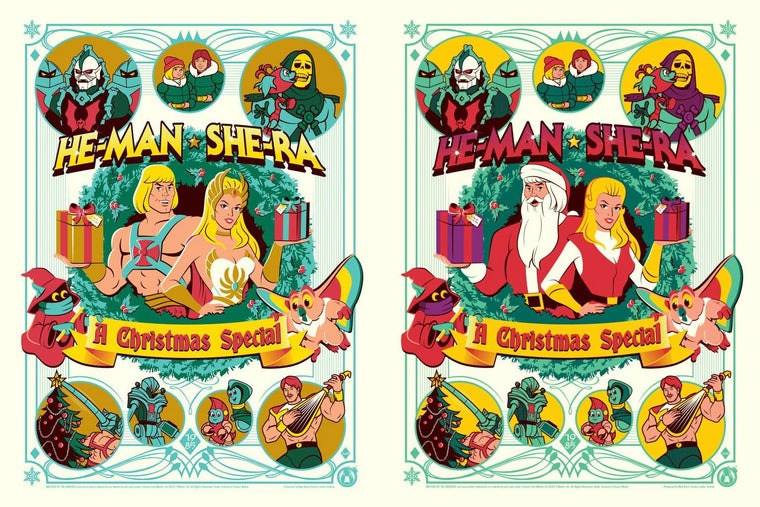He-man & She-Ra - A Christmas Special - Matching Number Set