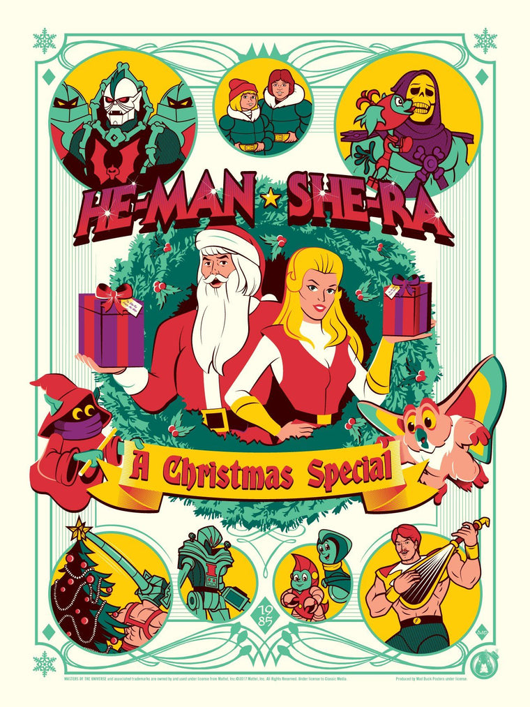 He-man & She-Ra - A Christmas Special - Variant
