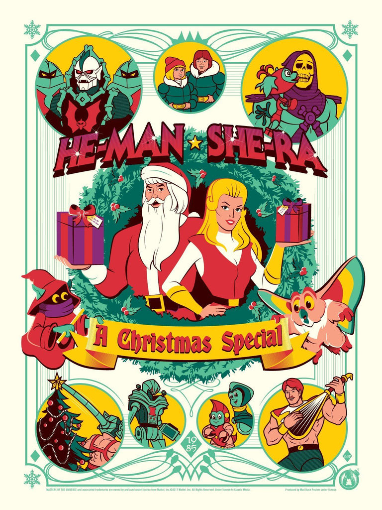 He Man Christmas.He Man She Ra A Christmas Special Matching Number Set