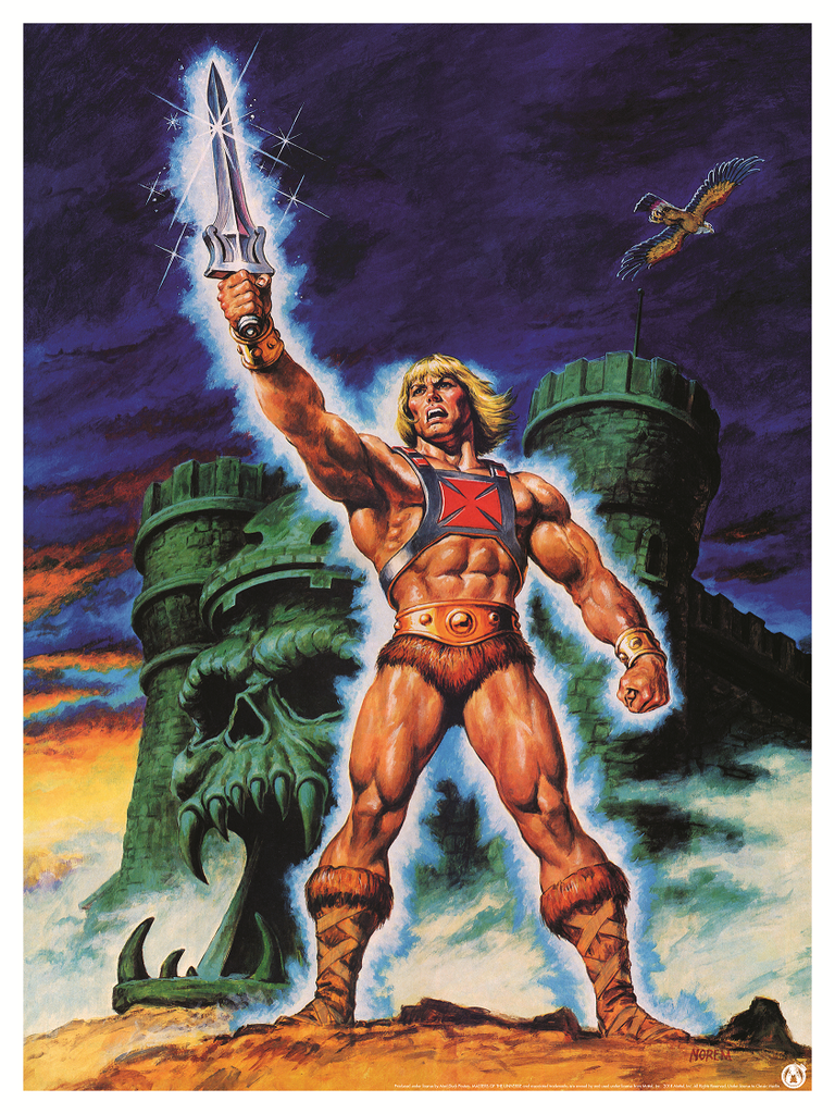 He-Man - Champion Of Grayskull - Power Variant - Mad Duck Posters