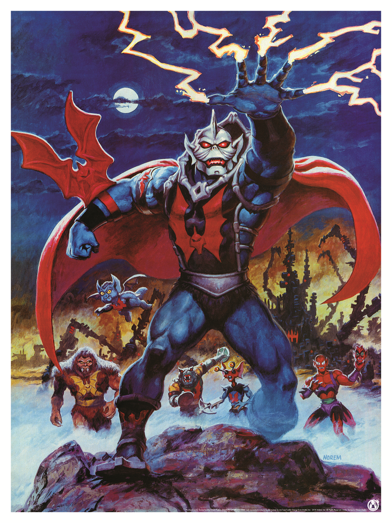 Hordak & The Evil Horde - Power Variant - Mad Duck Posters