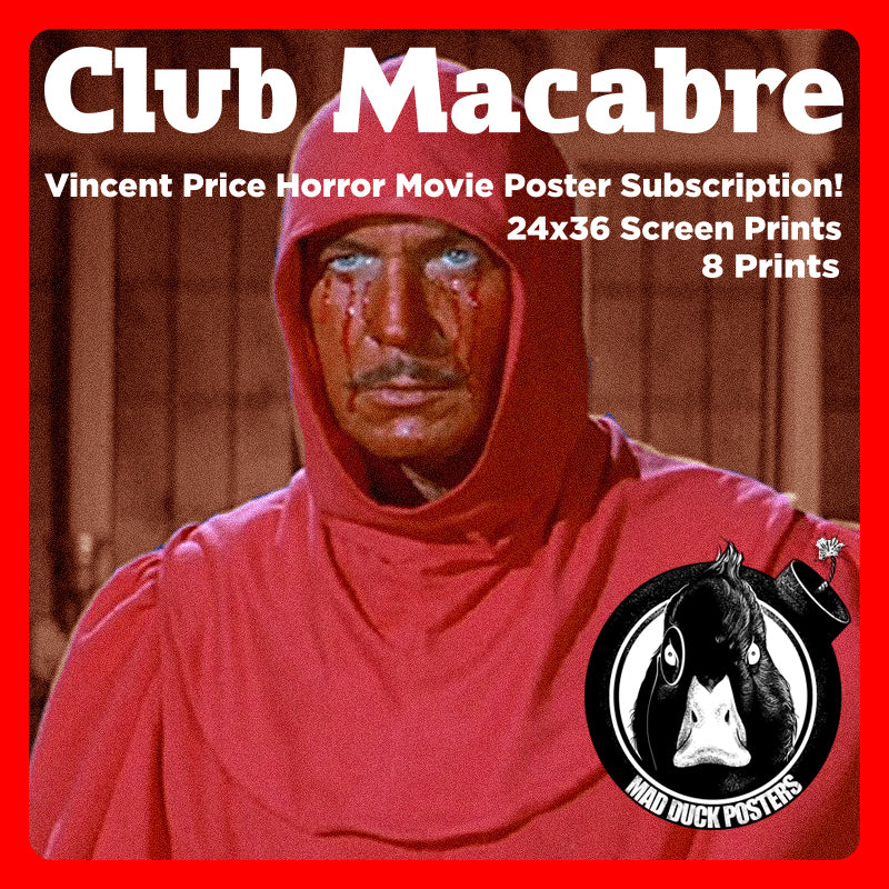 Club Macabre - Tier 1 - Mad Duck Posters