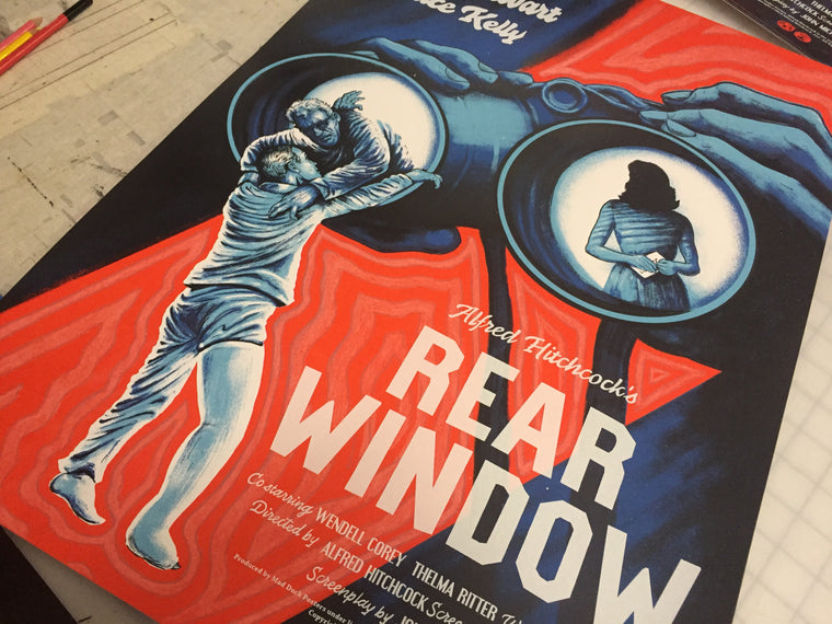 Rear Window - Regular - POV - Mad Duck Posters