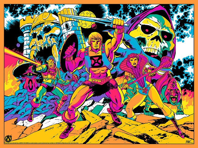 Third Eye Of Eternia - Cosmic Foil Variant - Mad Duck Posters