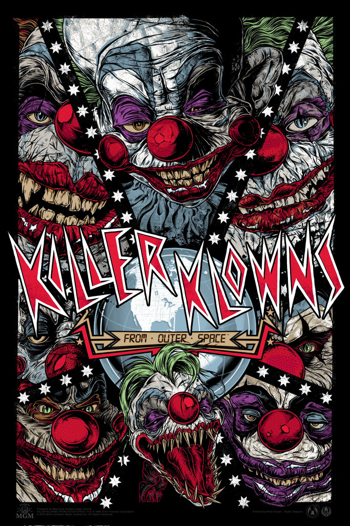 Killer Klowns From Outer Space - Nebula Variant - RC - Mad Duck Posters