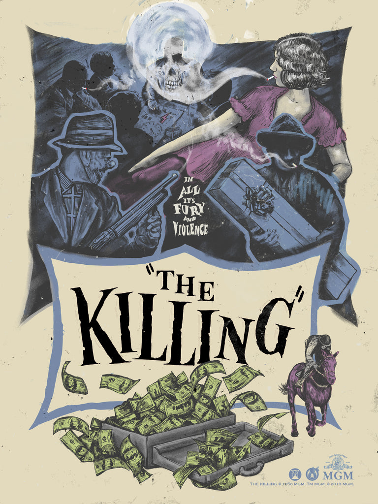 The Killing - Femme Fatale Variant - Mad Duck Posters