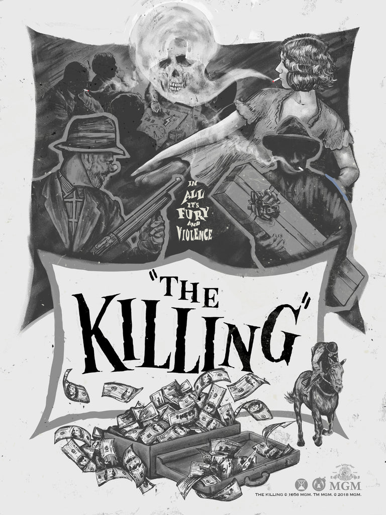 The Killing - Noir Variant - Mad Duck Posters