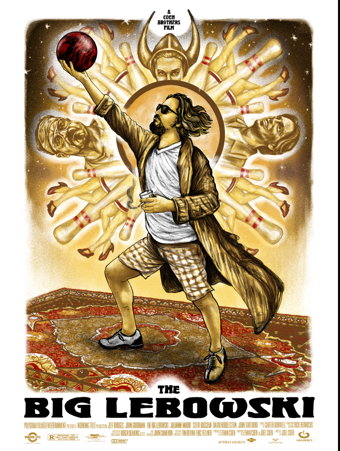 The Big Lebowski - Variant - Mad Duck Posters