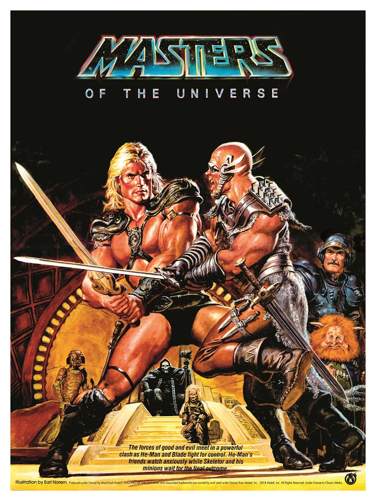 Masters Of The Universe Movie - Movie Poster - Mad Duck Posters