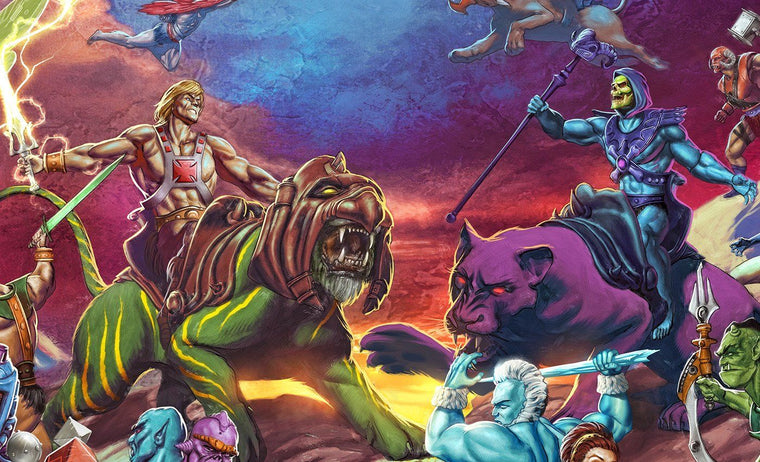 The Battle for Grayskull - Mad Duck Posters